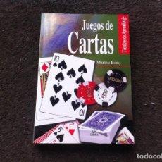 Libros de segunda mano: MARINA BONO. JUEGOS DE CARTAS. TÉCNICAS DE APRENDIZAJE. ED. LIBSA, 2004. Lote 171100497