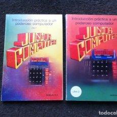 Libros de segunda mano: NACHTMANN. INTRODUCCIÓN PRÁCTICA A UN PODEROSO COMPUTADOR (2 TOMOS) JUNIOR COMPUTER. 1980.. Lote 171100870