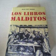 Libros de segunda mano: LOS LIBROS MALDITOS (MAR REY BUENO) - CÍRCULO DE LECTORES. Lote 171107742