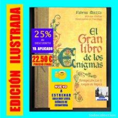 Libros de segunda mano: EL GRAN LIBRO DE LOS ENIGMAS ROMPECABEZAS Y JUEGOS DE LÓGICA - FABRICE MAZZA - CÍRCULO DE LECTORES. Lote 171112433