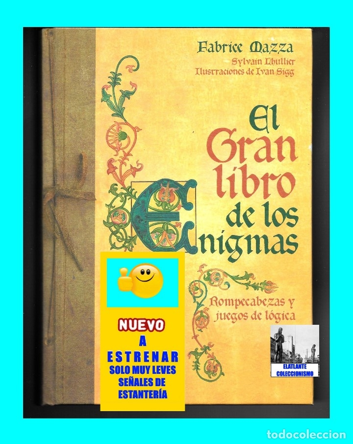 Libros de segunda mano: EL GRAN LIBRO DE LOS ENIGMAS ROMPECABEZAS Y JUEGOS DE LÓGICA - FABRICE MAZZA - CÍRCULO DE LECTORES - Foto 2 - 171112433