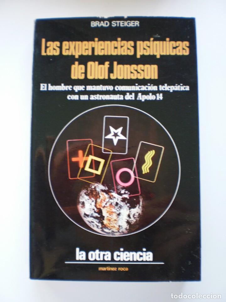 LAS EXPERIENCIAS PSIQUICAS DE OLOF JONSSON (Libros de Segunda Mano - Parapsicología y Esoterismo - Otros)