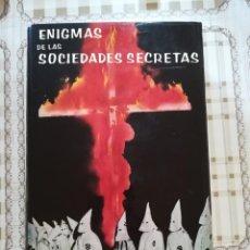 Libros de segunda mano: ENIGMAS DE LAS SOCIEDADES SECRETAS - G.K. MORBERGER-THOM. Lote 171139183