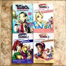 Libros de segunda mano: LOTE PACK 4 LIBROS - LAS WITCH LIBROS SECRETOS. Lote 171140895