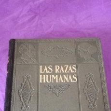 Libros de segunda mano: 39-HISTORIA NATURAL INSTITUTO GALLACH LAS RAZAS HUMANAS,. Lote 171141743