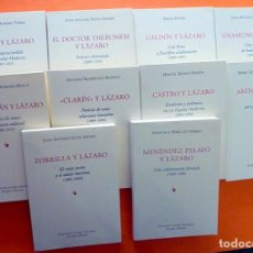 Libros de segunda mano: COLECCION EPISTOLAR LA ESPAÑA MODERNA:GALDOS,UNAMUNO,ZORRILLA,CLARIN,ETC -10 VOLS-NUEVOS. Lote 171149585