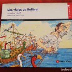 Libros de segunda mano: LOS VIAJES DE GULLIVER (JONATHAN SWIFT) ADAPTACIÓN DE MARTIN JENKINS. ILUSTRACIONES DE CHRIS RIDDELL. Lote 171175734