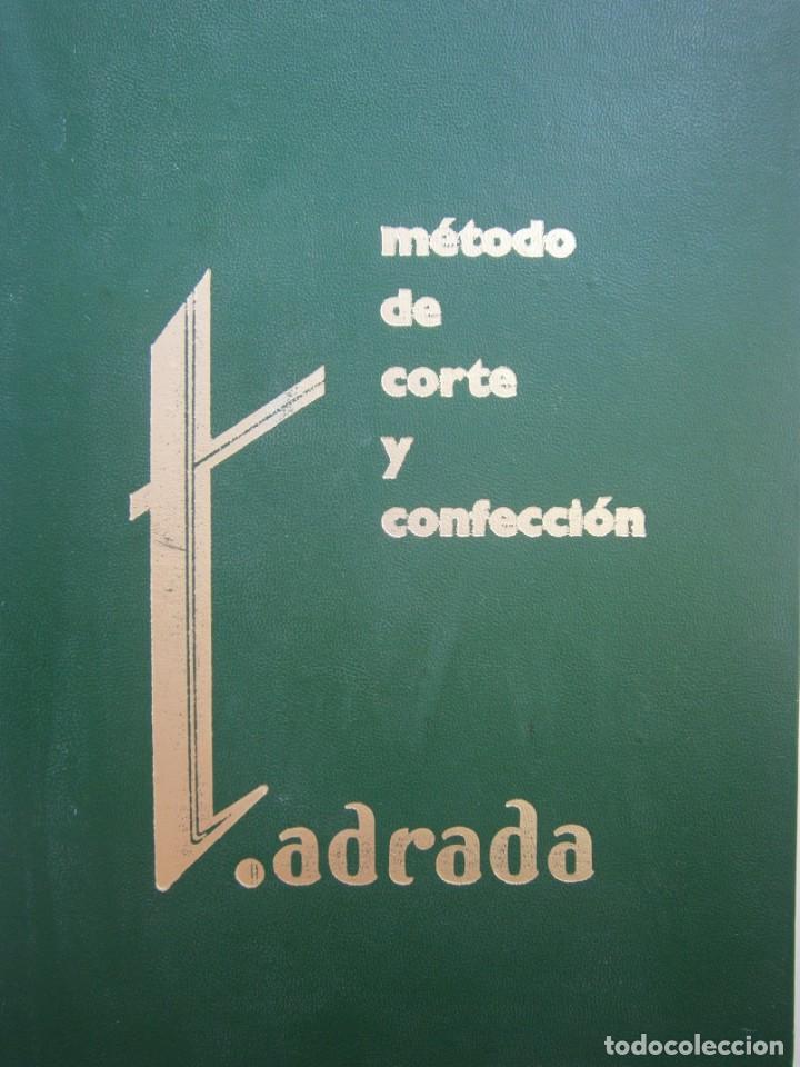 METODO DE CORTE Y CONFECCION ADRADA EDITORIAL VIZCAINA 1975 (Libros de Segunda Mano - Ciencias, Manuales y Oficios - Otros)