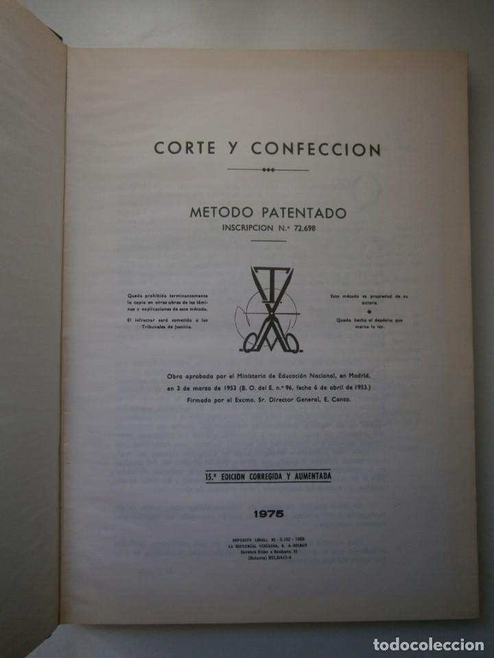 Libros de segunda mano: METODO DE CORTE Y CONFECCION ADRADA Editorial Vizcaina 1975 - Foto 8 - 171205470