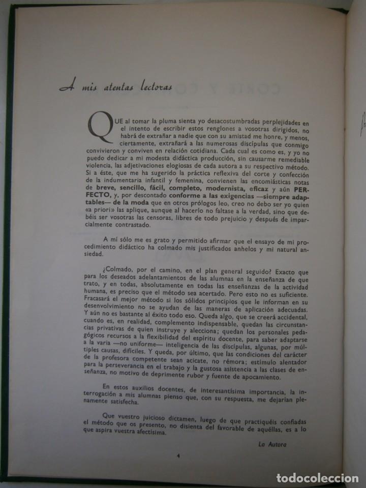 Libros de segunda mano: METODO DE CORTE Y CONFECCION ADRADA Editorial Vizcaina 1975 - Foto 9 - 171205470