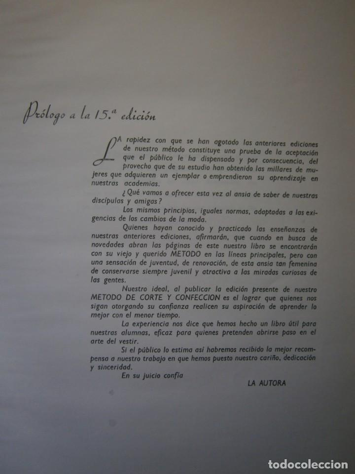 Libros de segunda mano: METODO DE CORTE Y CONFECCION ADRADA Editorial Vizcaina 1975 - Foto 10 - 171205470