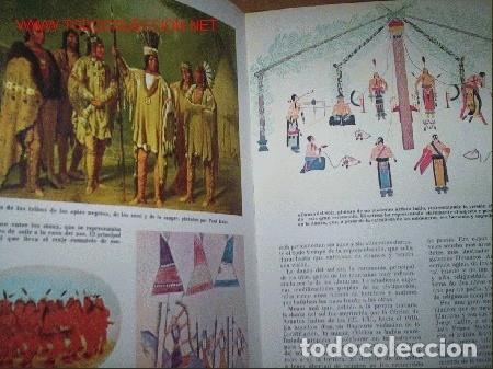 Libros de segunda mano: INDIOS AMERICANOS MARAVILLAS DEL MUNDO - OLIVER LA FARGE - EDICIONES GAISA - PRECIOSO MUY ILUSTRADO - Foto 5 - 171212327