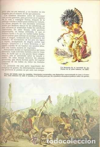 Libros de segunda mano: INDIOS AMERICANOS MARAVILLAS DEL MUNDO - OLIVER LA FARGE - EDICIONES GAISA - PRECIOSO MUY ILUSTRADO - Foto 9 - 171212327