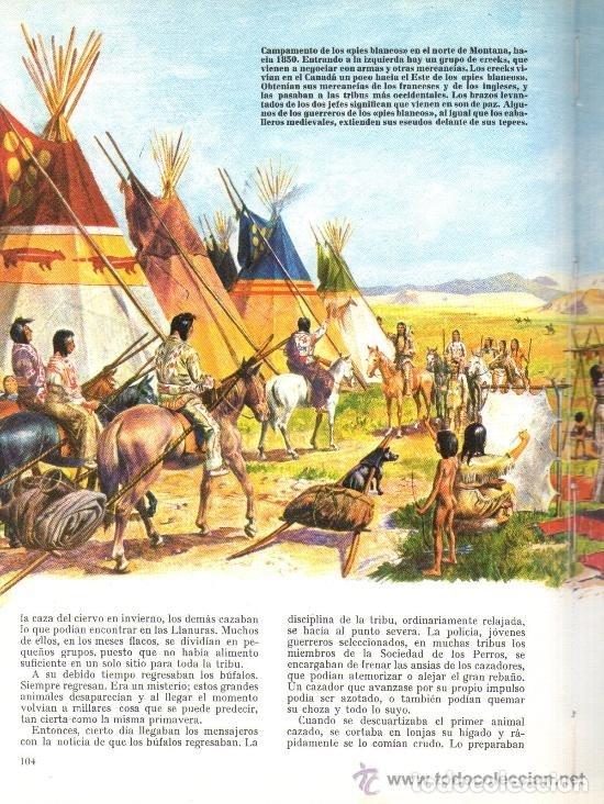 Libros de segunda mano: INDIOS AMERICANOS MARAVILLAS DEL MUNDO - OLIVER LA FARGE - EDICIONES GAISA - PRECIOSO MUY ILUSTRADO - Foto 13 - 171212327