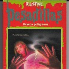 Libros de segunda mano: PESADILLAS - DESEOS PELIGROSOS - R.L. STINE - EDICIONES B - B. ESTADO - PEDIDO MÍNIMO 10 EUROS. Lote 171213477