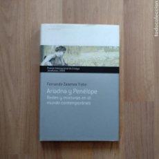 Libros de segunda mano: ARIADNA Y PENÉLOPE. FERNANDO ZALAMEA TRABA.. Lote 171232762