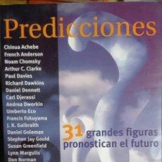 Libros de segunda mano: CHINUA ACHEBE ET AL. PREDICCIONES. 2000. Lote 171245613