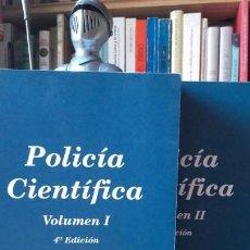 Libros de segunda mano: ANTON Y BARBERA / DE LUIS: POLICIA CIENTIFICA. 2 TOMOS. COMPLETA, (TIRANT LO BLANCH, 2004).. Lote 171254702