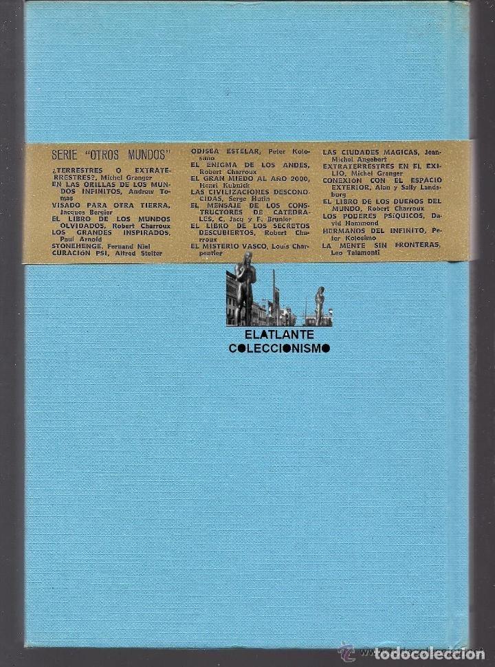 Libros de segunda mano: EL LIMBO DE LO PERDIDO JOHN WALLACE SPENCER OTROS MUNDOS TRIANGULO BERMUDAS PLAZA JANES 1977 - 14 € - Foto 10 - 171276798