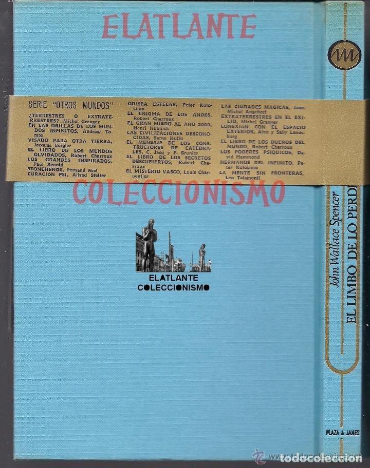 Libros de segunda mano: EL LIMBO DE LO PERDIDO JOHN WALLACE SPENCER OTROS MUNDOS TRIANGULO BERMUDAS PLAZA JANES 1977 - 14 € - Foto 11 - 171276798