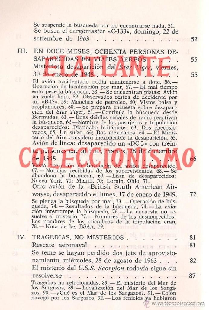 Libros de segunda mano: EL LIMBO DE LO PERDIDO JOHN WALLACE SPENCER OTROS MUNDOS TRIANGULO BERMUDAS PLAZA JANES 1977 - 14 € - Foto 6 - 171276798