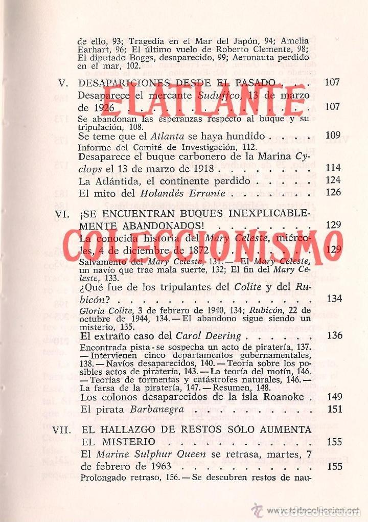Libros de segunda mano: EL LIMBO DE LO PERDIDO JOHN WALLACE SPENCER OTROS MUNDOS TRIANGULO BERMUDAS PLAZA JANES 1977 - 14 € - Foto 7 - 171276798