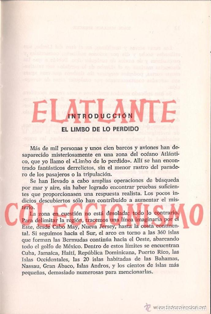 Libros de segunda mano: EL LIMBO DE LO PERDIDO JOHN WALLACE SPENCER OTROS MUNDOS TRIANGULO BERMUDAS PLAZA JANES 1977 - 14 € - Foto 9 - 171276798