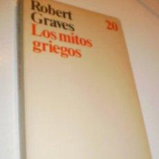 Libros de segunda mano: ROBERT GRAVES. LOS MITOS GRIEGOS. ARIEL 1986. 254 PÁGINAS (BUEN ESTADO). Lote 171304573