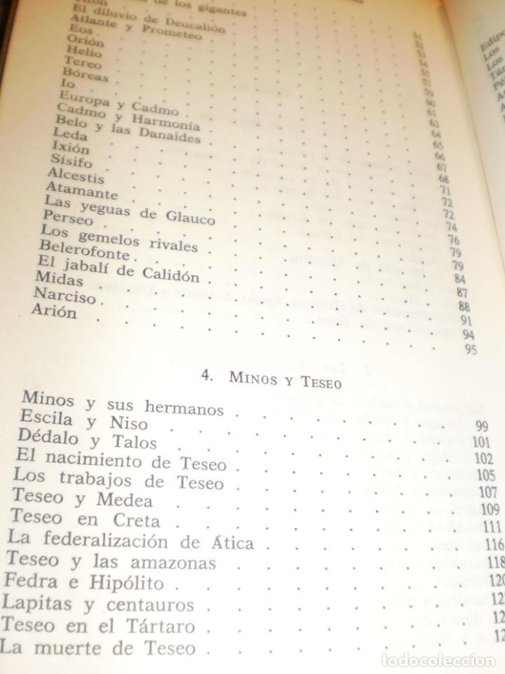 Libros de segunda mano: robert graves. los mitos griegos. ariel 1986. 254 páginas (buen estado) - Foto 3 - 171304573