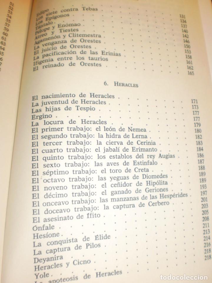Libros de segunda mano: robert graves. los mitos griegos. ariel 1986. 254 páginas (buen estado) - Foto 4 - 171304573