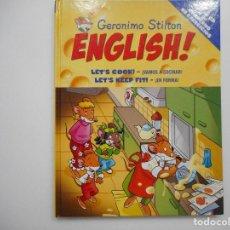 Libros de segunda mano: GERÓNIMO STILTON ENGLISH!(INGLÉS-CASTELLANO) Y95161 . Lote 171317483