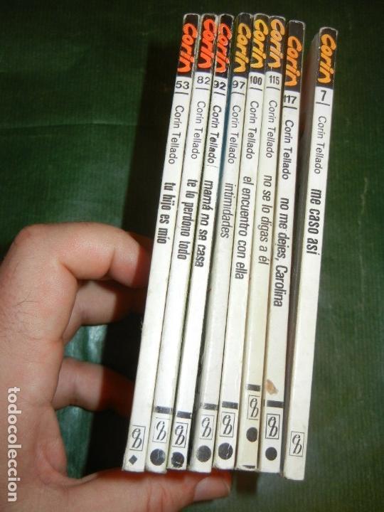 Libros de segunda mano: Lote de 8 Novelas de la colección 'CORIN' 7, 53, 82, 92, 97, 100, 115 y 117, de Corin Tellado - Foto 2 - 144149533