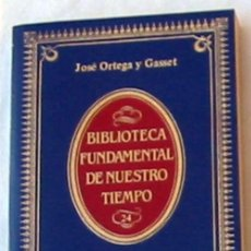 Libros de segunda mano: EL ESPECTADOR - JOSÉ ORTEGA Y GASSET - ALIANZA EDITORIAL 1984 - VER INDICE. Lote 171338849