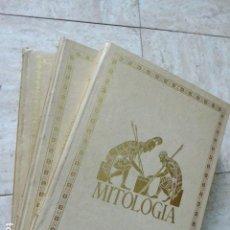 Libros de segunda mano: MITOLOGIA. ED. VICTOR CIVITA, 1973. 3 TOMOS. COMPLETO. 800 PP. LOS 3 TOMOS. ILUSTRADOS.. Lote 171345535