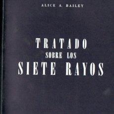 Libros de segunda mano: ALICE BAILEY : TRATADO DE LOS SIETE RAYOS TOMO II - SICOLOGÍA ESOTÉRICA (KIER, 1975). Lote 171346374