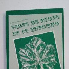 Libros de segunda mano: VIDES DE RIOJA EN SU ENTORNO. ANTONIO LARREA REDONDO. LA RIOJA. TDK396. Lote 171357859