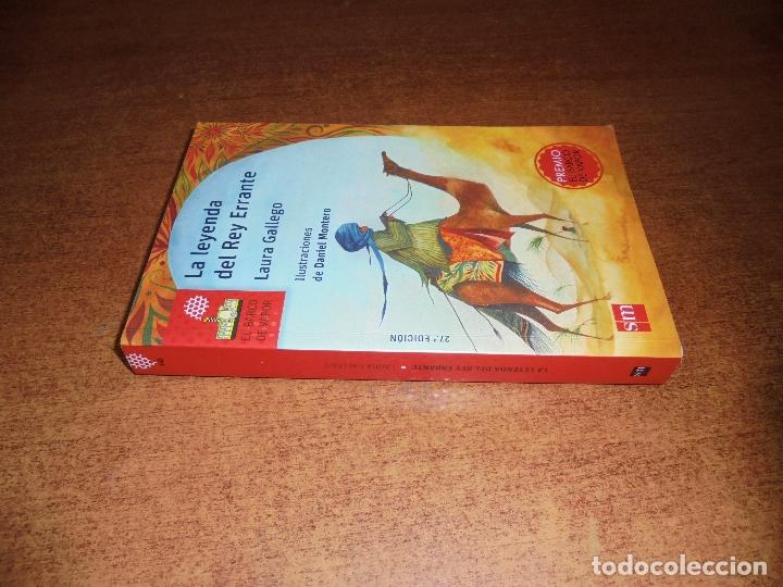 Libros de segunda mano: LA LEYENDA DEL REY ERRANTE (GALLEGO, L.) 2017 - Foto 2 - 179162141
