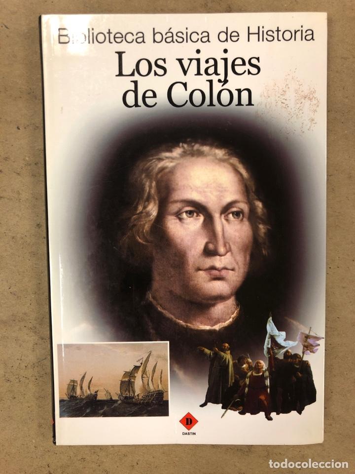 LOS VIAJES DE COLON. BIBLIOTECA BÁSICA DE HISTORIA. EDITADO EN 2004. ILUSTRADO. 138 PÁGINAS. (Libros de Segunda Mano - Historia - Otros)