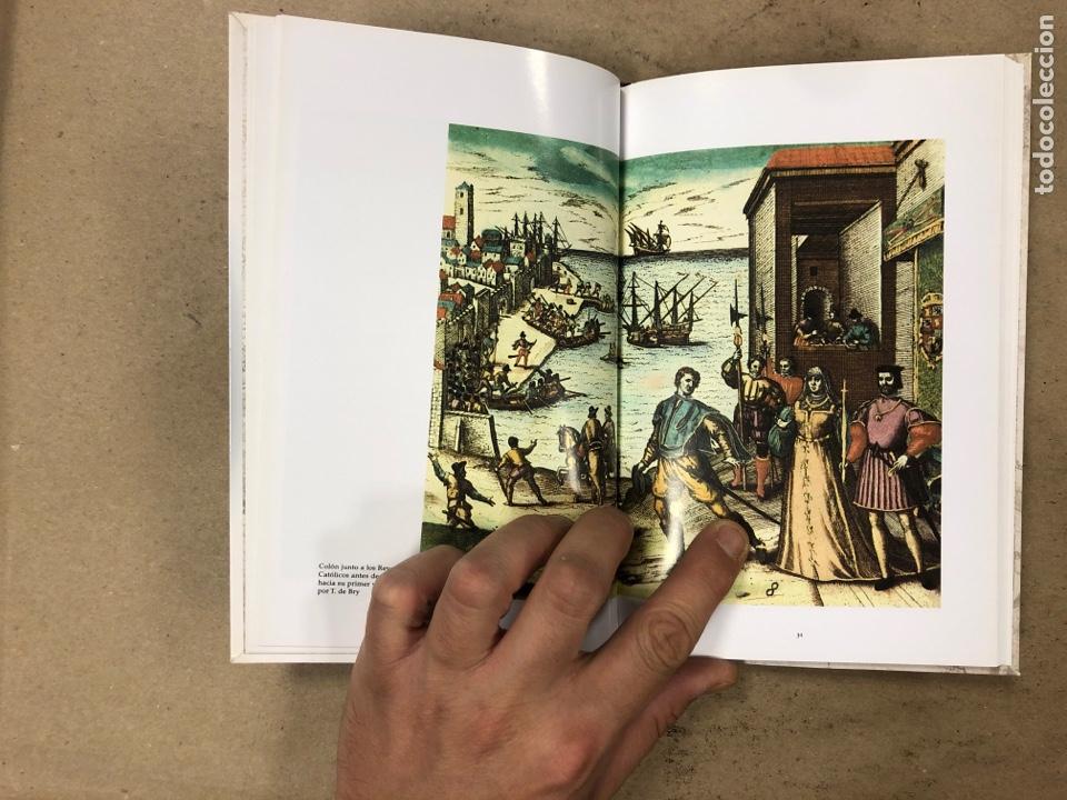 Libros de segunda mano: LOS VIAJES DE COLON. BIBLIOTECA BÁSICA DE HISTORIA. EDITADO EN 2004. ILUSTRADO. 138 PÁGINAS. - Foto 4 - 171406389