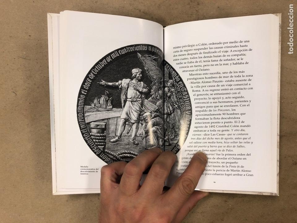 Libros de segunda mano: LOS VIAJES DE COLON. BIBLIOTECA BÁSICA DE HISTORIA. EDITADO EN 2004. ILUSTRADO. 138 PÁGINAS. - Foto 5 - 171406389