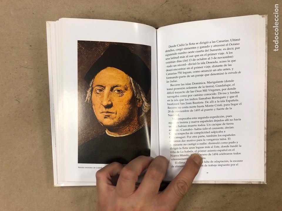 Libros de segunda mano: LOS VIAJES DE COLON. BIBLIOTECA BÁSICA DE HISTORIA. EDITADO EN 2004. ILUSTRADO. 138 PÁGINAS. - Foto 6 - 171406389
