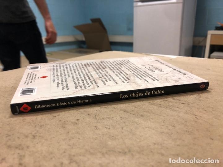 Libros de segunda mano: LOS VIAJES DE COLON. BIBLIOTECA BÁSICA DE HISTORIA. EDITADO EN 2004. ILUSTRADO. 138 PÁGINAS. - Foto 8 - 171406389