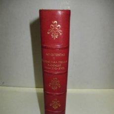 Libros de segunda mano: ADVERTENCIAS Y REGLAS PARA TOREAR A CABALLO. (SIGLOS XVII Y XVIII). 1947. BIBLIOFILIA.. Lote 171410393