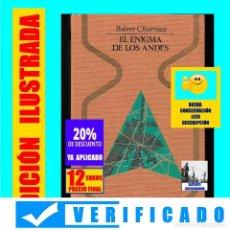 Libros de segunda mano: EL ENIGMA DE LOS ANDES ROBERT CHARROUX LAS PISTAS DE NAZCA BIBLIOTECA DE LOS ATLANTES PIEDRAS DE ICA. Lote 171432170