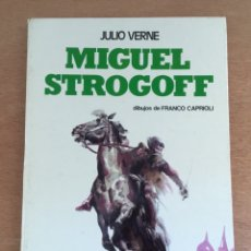 Libros de segunda mano: MIGUEL STROGOFF. JULIO VERNE. EDICIONES PAULINAS 1974. DIBUJOS FRANCO CAPRIOLI. Lote 171446355