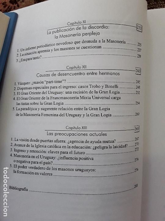 Libros de segunda mano: En penumbras (La masonería uruguaya 1973-2008), de Fernando Amado. Raro. - Foto 7 - 171422688