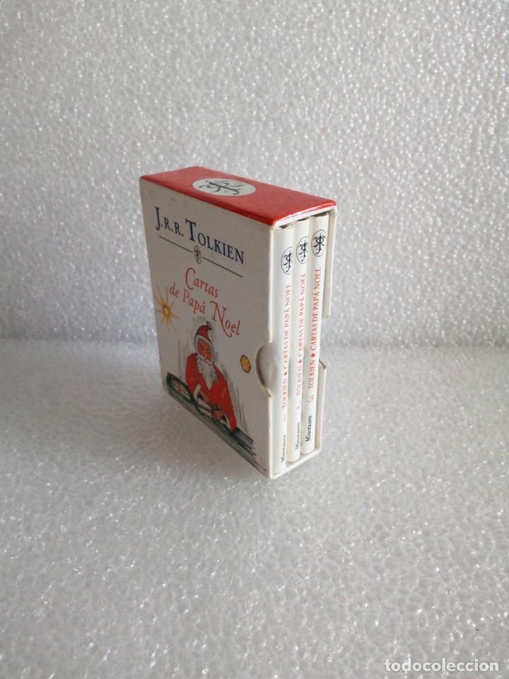 CARTAS DE PAPÁ NOEL, J. R.R. TOLKIEN, TRES LIBROS EN ESTUCHE, MINIATURA, ED. MINOTAURO, 1994 (Libros de Segunda Mano - Literatura Infantil y Juvenil - Otros)