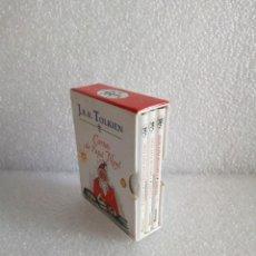 Libros de segunda mano: CARTAS DE PAPÁ NOEL, J. R.R. TOLKIEN, TRES LIBROS EN ESTUCHE, MINIATURA, ED. MINOTAURO, 1994. Lote 171488332