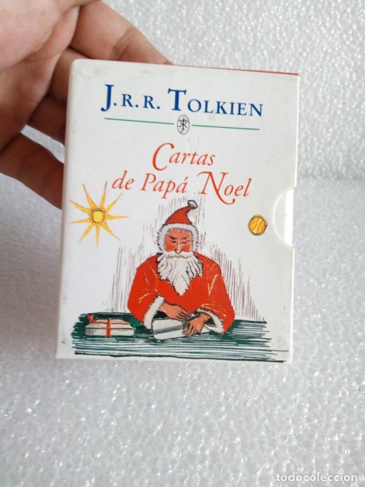 Libros de segunda mano: Cartas de Papá Noel, J. R.R. Tolkien, tres libros en estuche, miniatura, ed. Minotauro, 1994 - Foto 2 - 171488332
