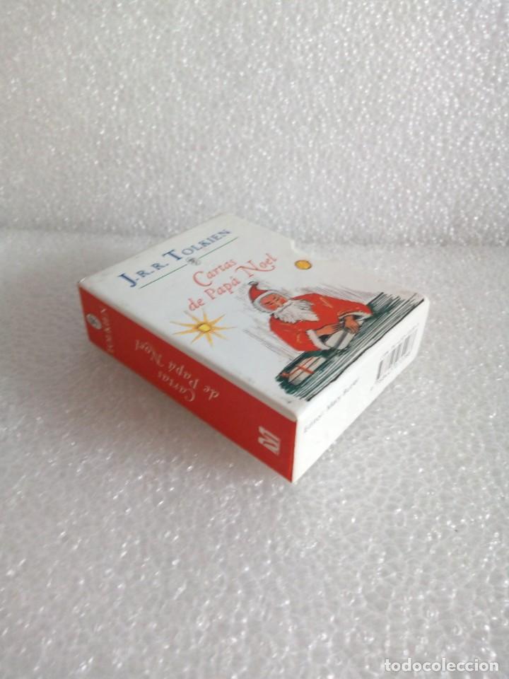 Libros de segunda mano: Cartas de Papá Noel, J. R.R. Tolkien, tres libros en estuche, miniatura, ed. Minotauro, 1994 - Foto 3 - 171488332